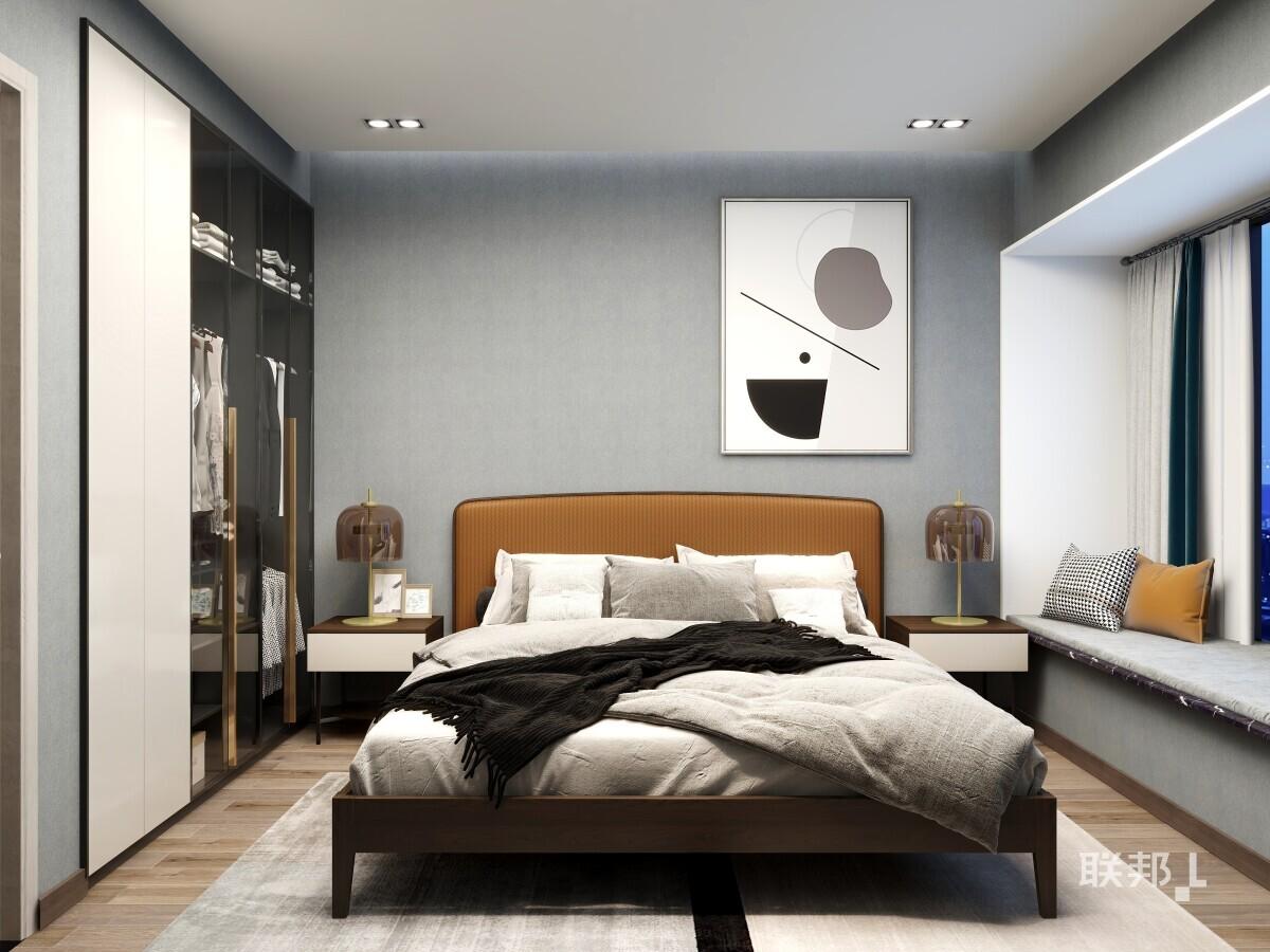 两房两厅北欧自然知几系列_客卧
